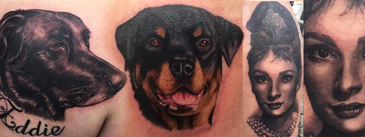 Tatueringar - Porträtt m.m.