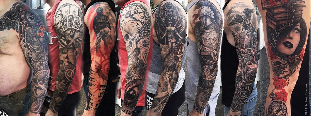 Tatueringar - Sleeves